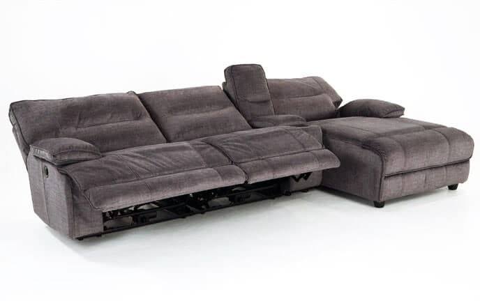 Pacifica 4 Piece Power Reclining Left Arm Facing Sectional