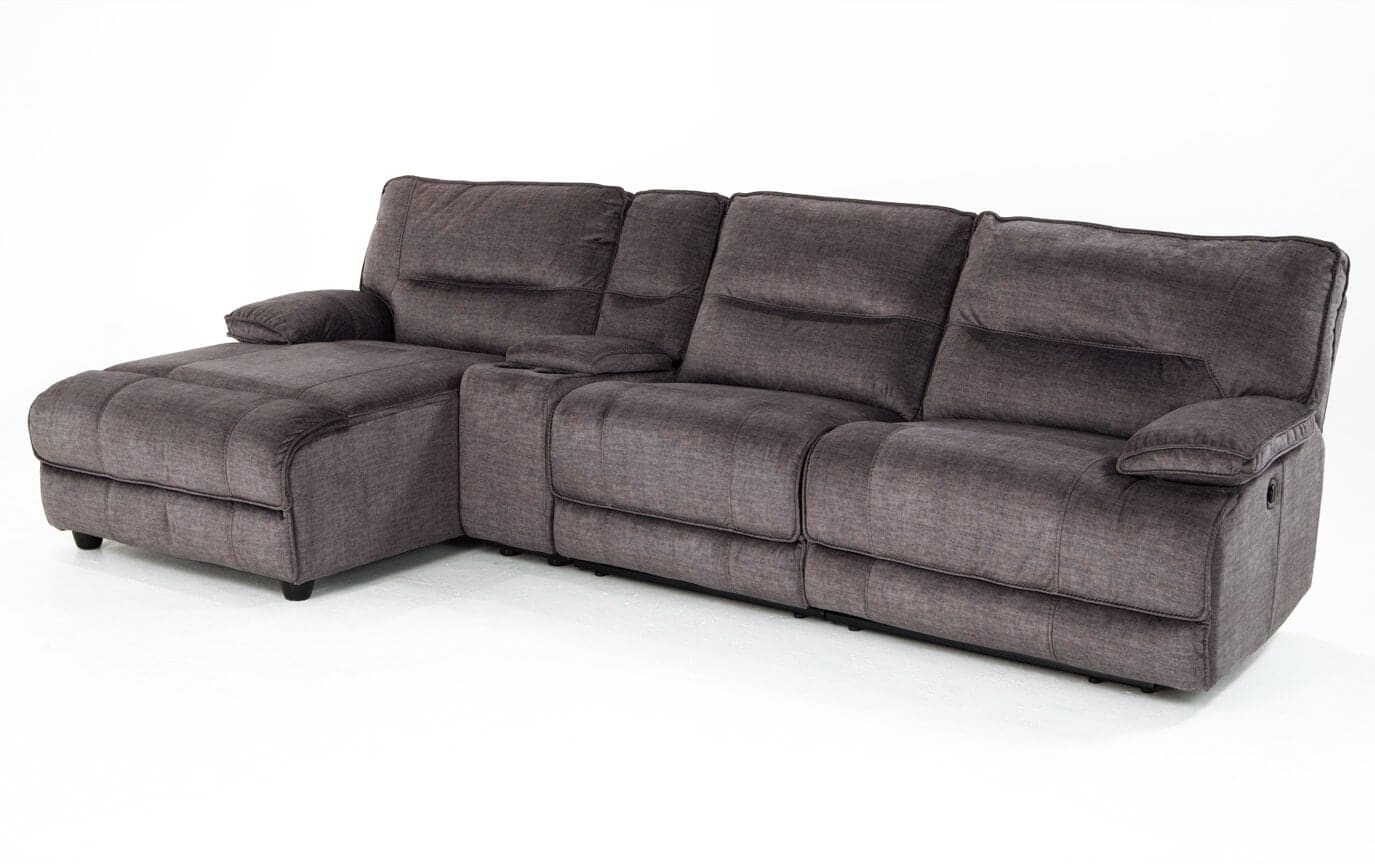 Pacifica Power Reclining 4 Piece Right Arm Facing