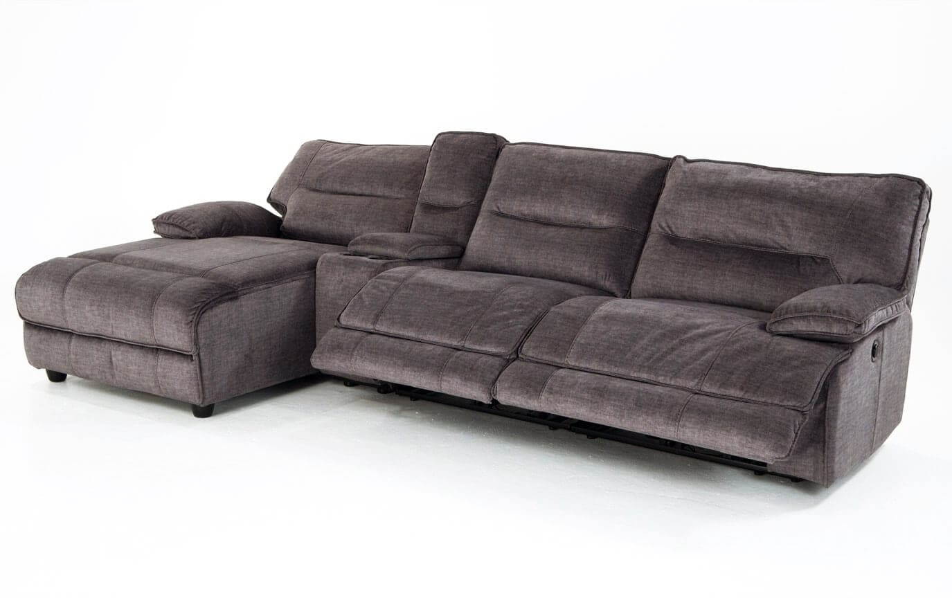 Pacifica Gray 4 Piece Power Reclining Right Arm Facing