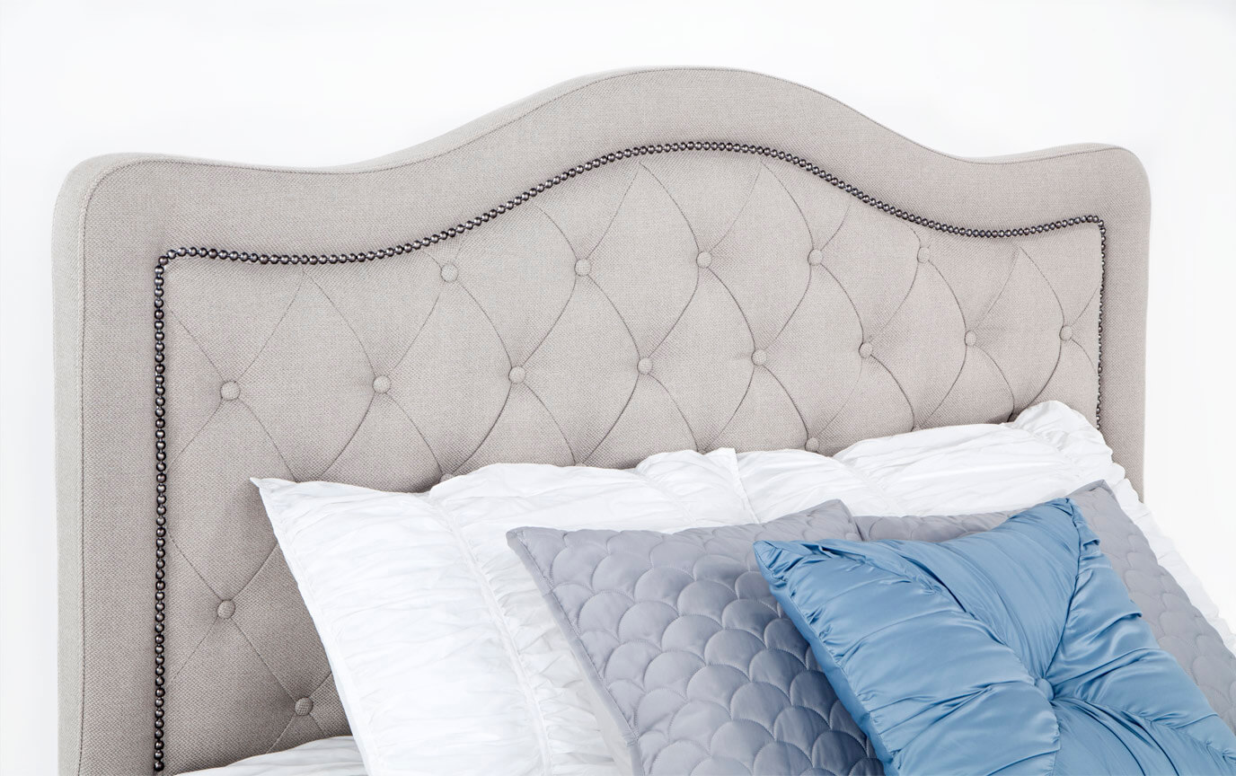 Troy Upholstered Bed