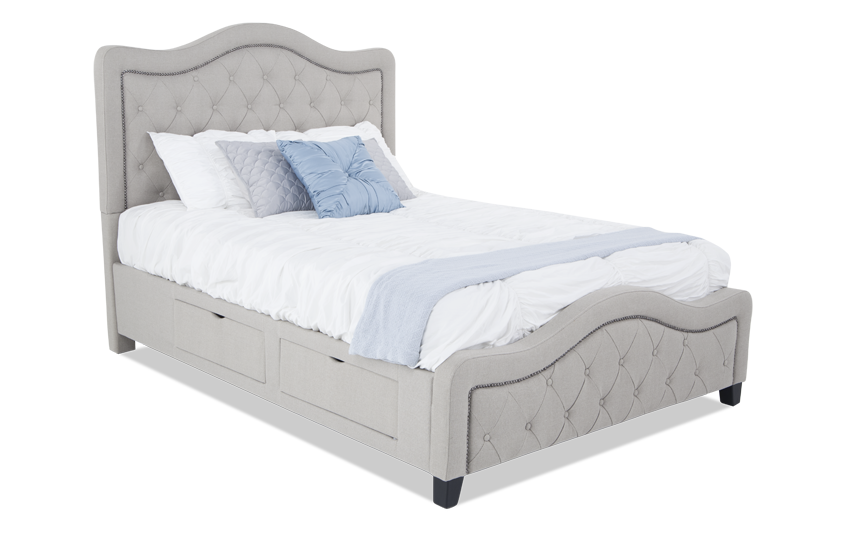 Troy Upholstered Storage Bed