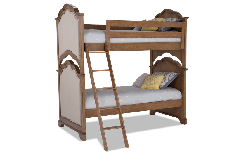 Paige Twin Bunk Bed Outlet Bob S Discount Furniture