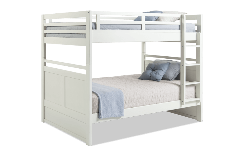 Chadwick Full White Bunk Bed
