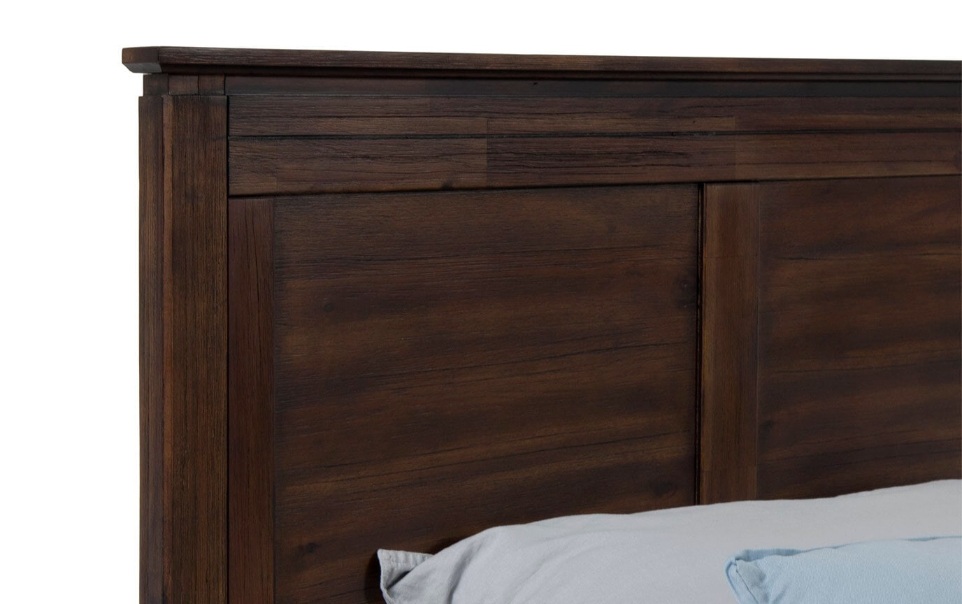 Chadwick Full Rustic Panel Bed
