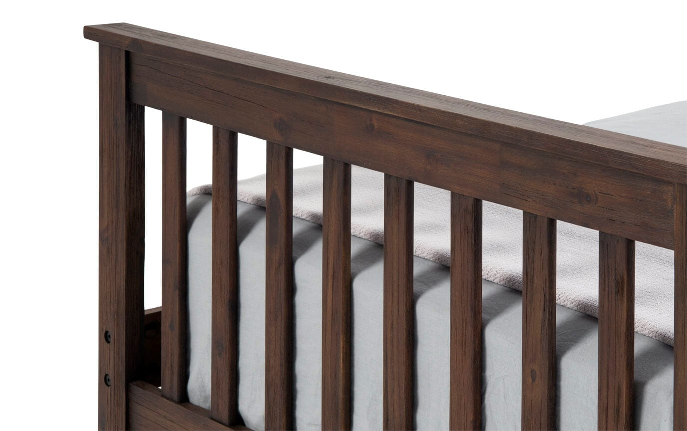 Chadwick Twin Rustic Captain Bed With Trundle
