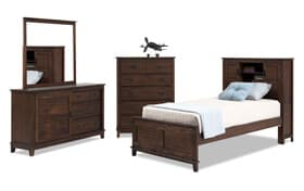 Chadwick Bookcase Bedroom Set