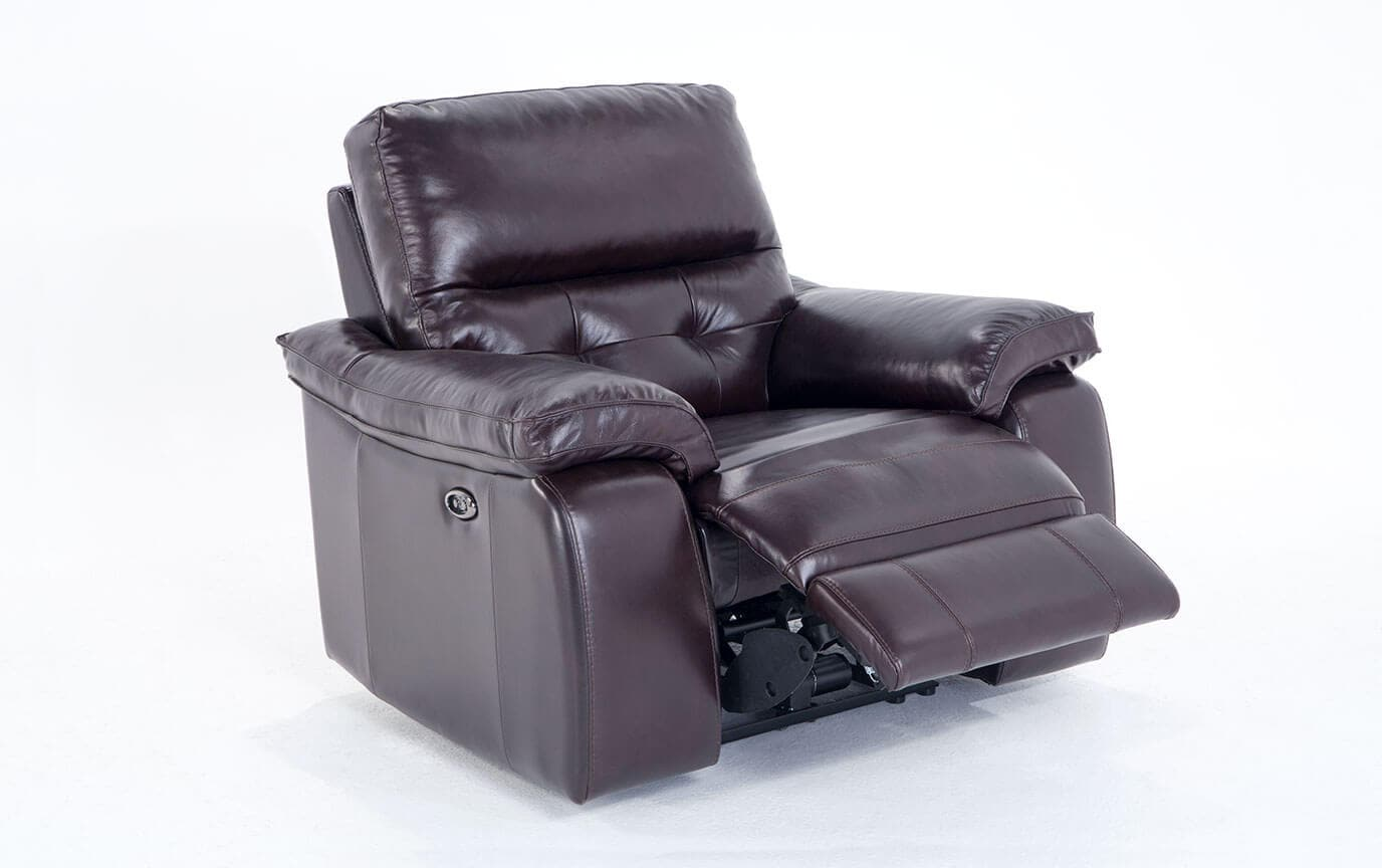 Excalibur Leather Power Recliner