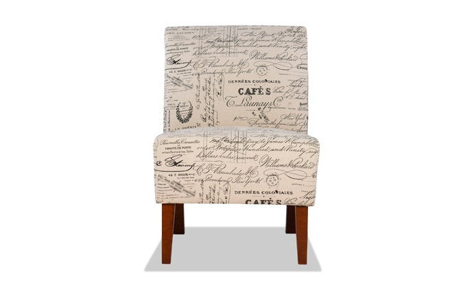 Linen Words Lily Chair