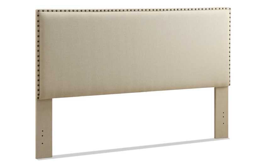 Modern Natural Headboard King