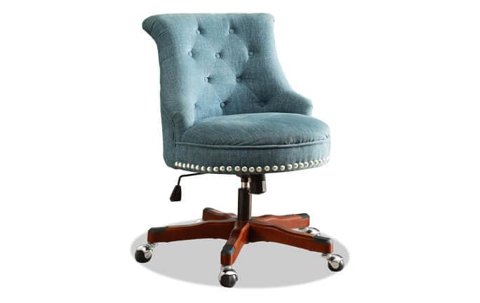 Sabrina Aqua Office Chair