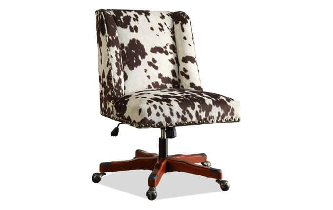 Sofia Cow Print Office Chair