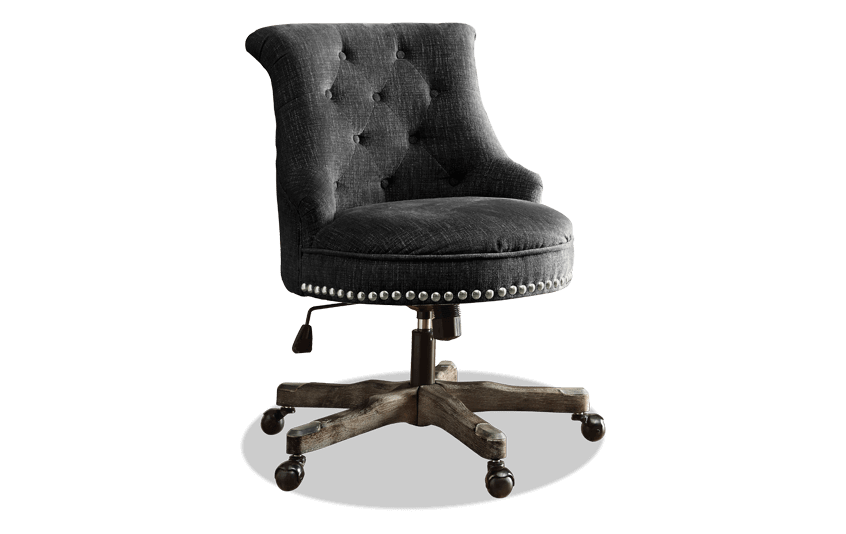 Sabrina Charcoal Office Chair