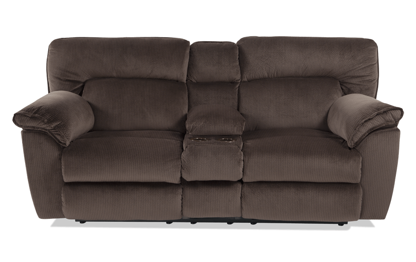 Brava Power Reclining Console Loveseat