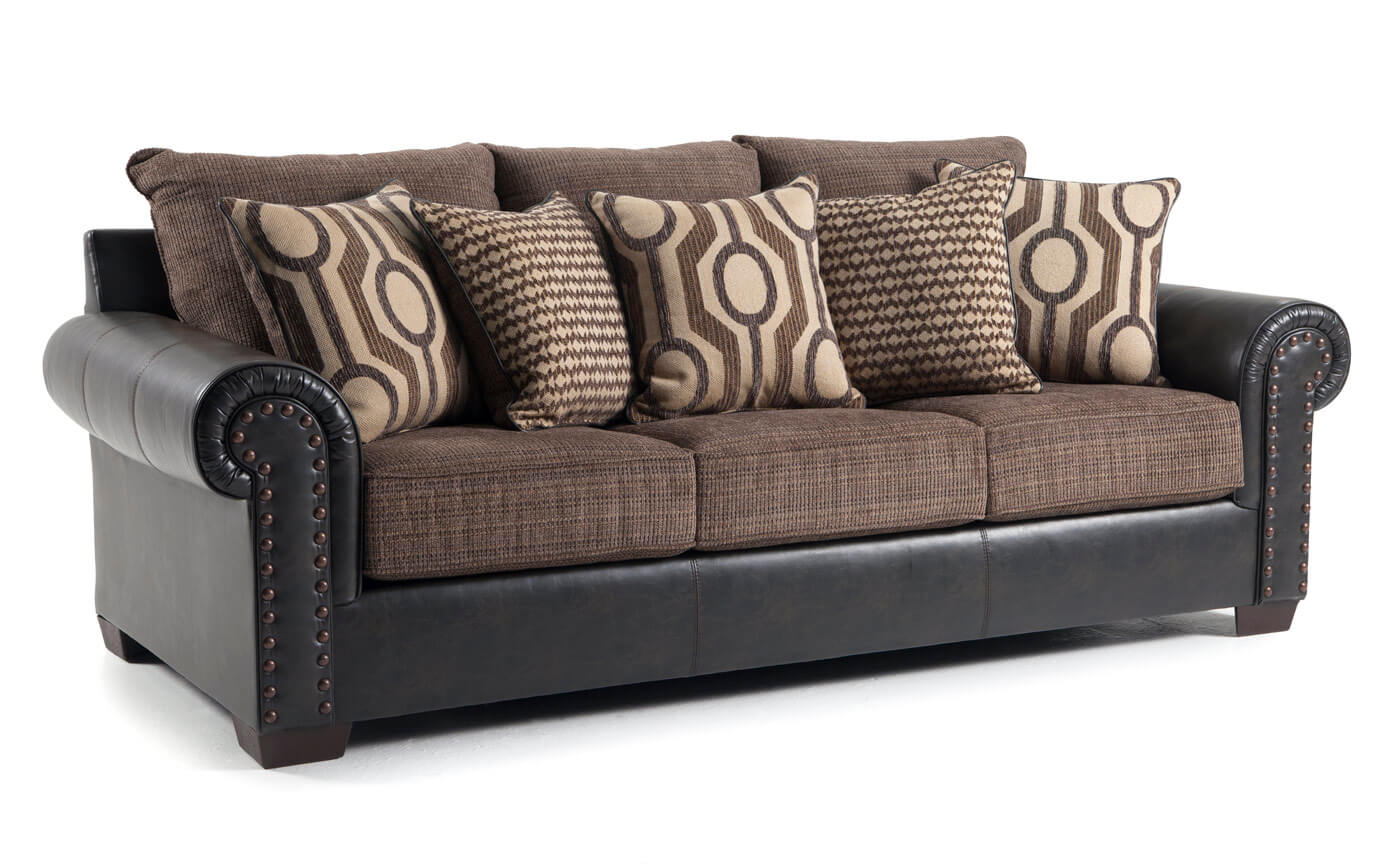 Wyatt Sofa, Chair & Storage Ottoman