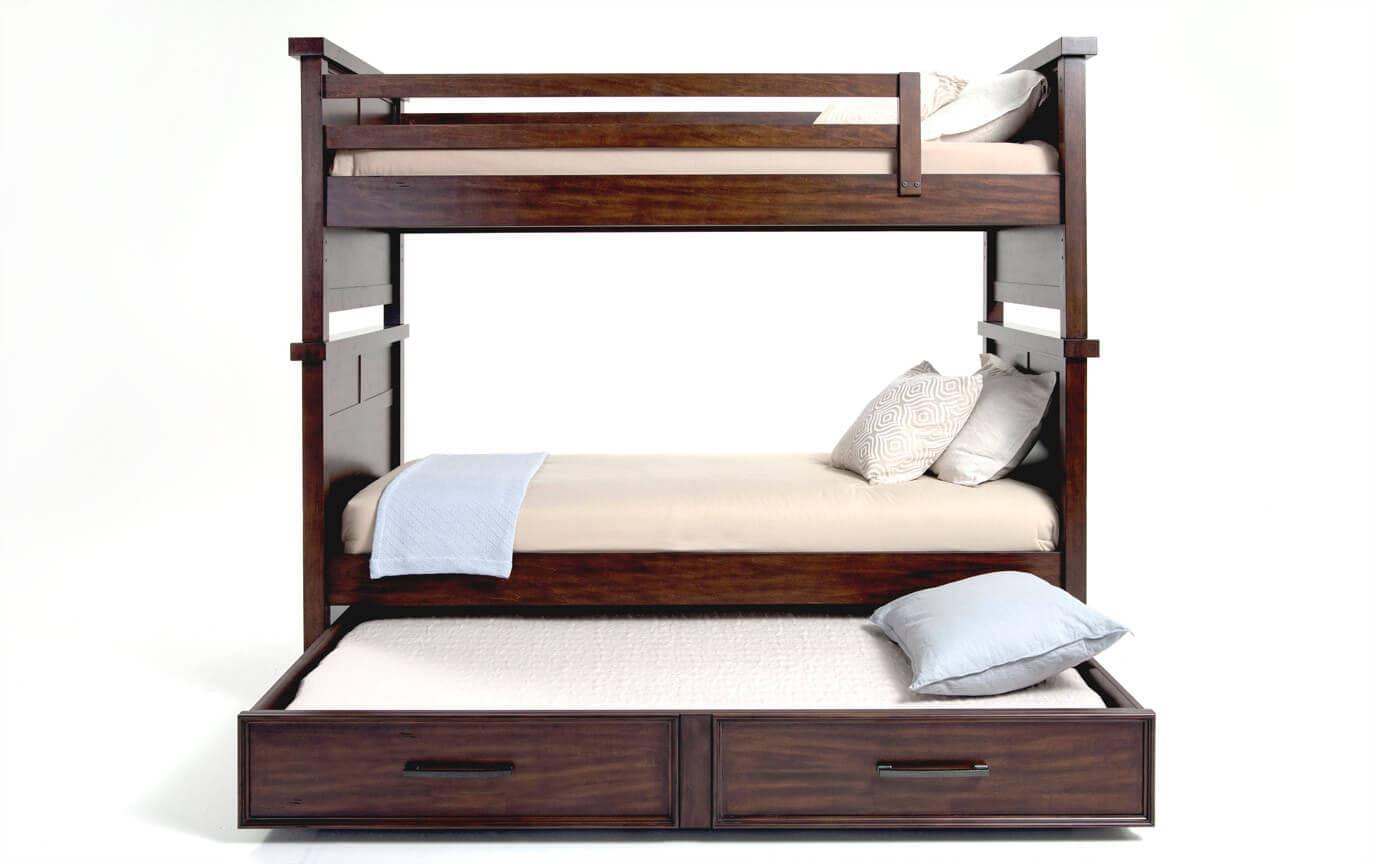 Hudson Youth Twin Bunk Bed With Trundle Bob S Discount Furniture