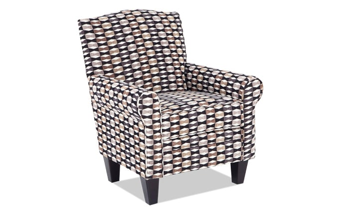 Tory Ebony Accent Chair