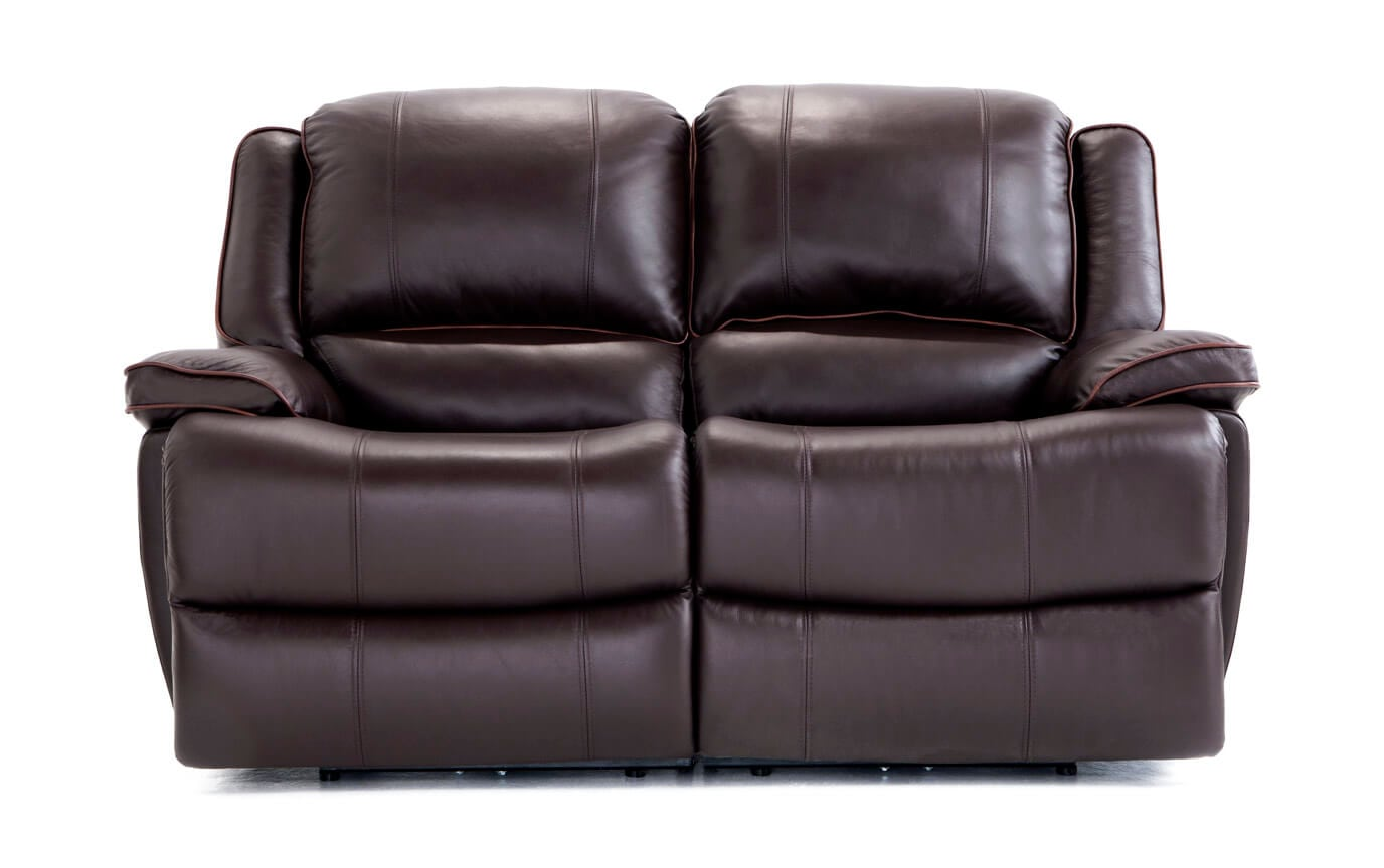 garden black loveseat product shipping leather today free reclining overstock bennett home