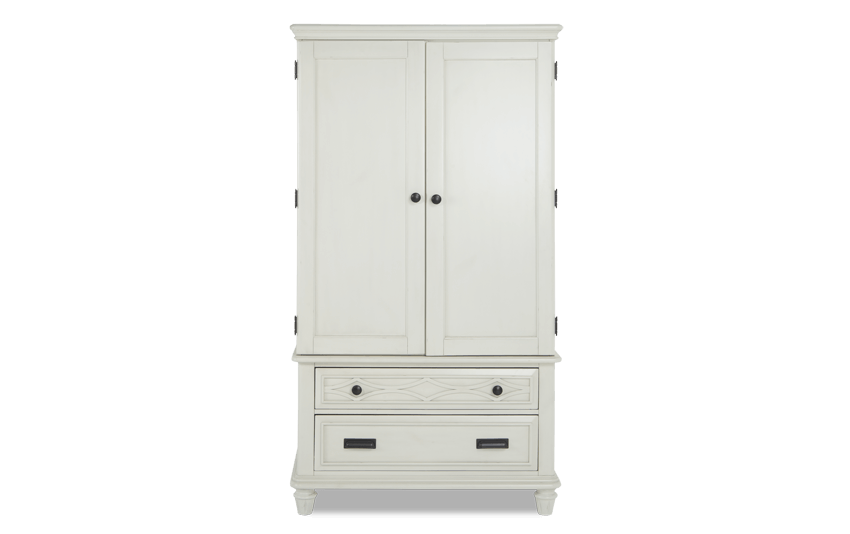 Mystic Bay White Wardrobe