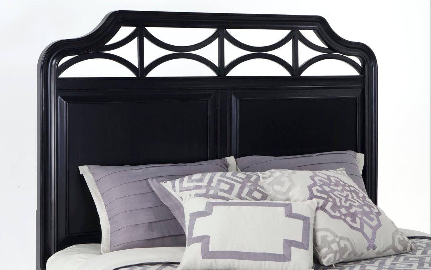 Mystic Bay Twin Black Storage Bed