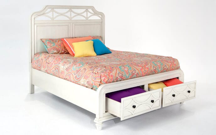Mystic Bay Storage Bed