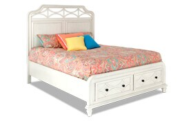 Mystic Bay Storage Bed