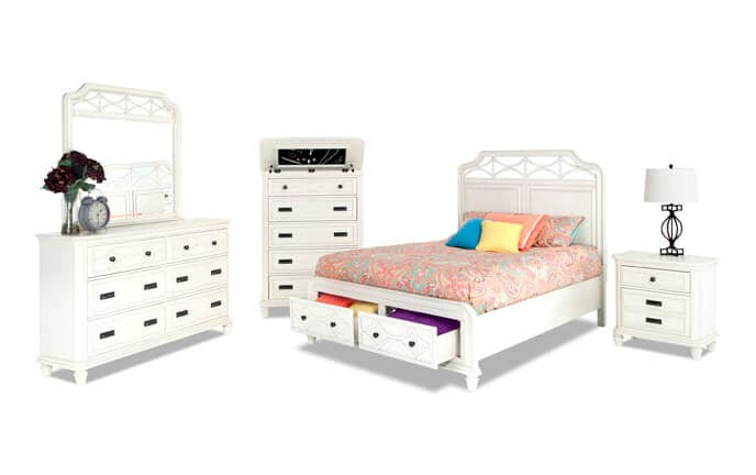 Mystic Bay Bedroom Set