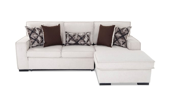 Playscape Left Arm Facing Beige Sectional