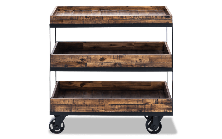 Metal Wine Cart