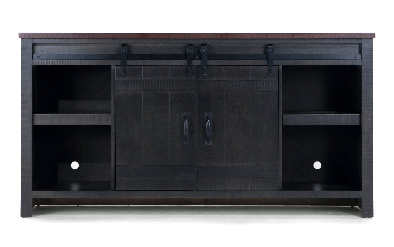Sierra Gray/Brown TV Console