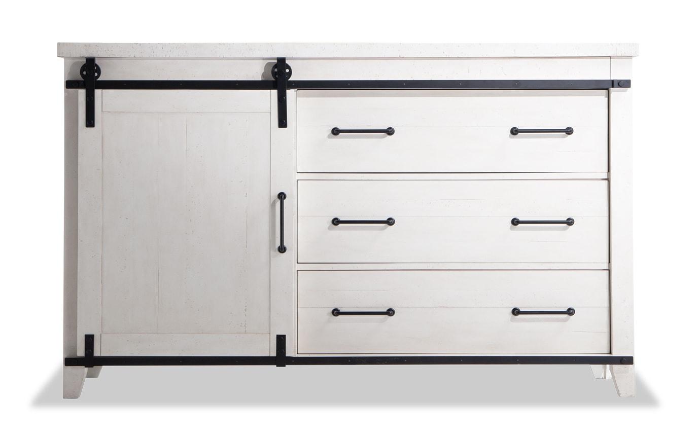 Montana White Dresser