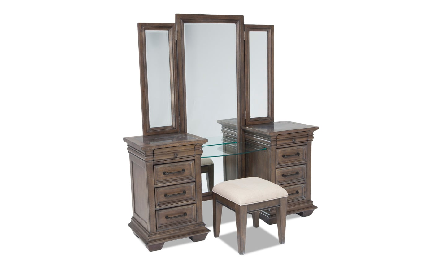 Tuscany 4 Piece Vanity Set
