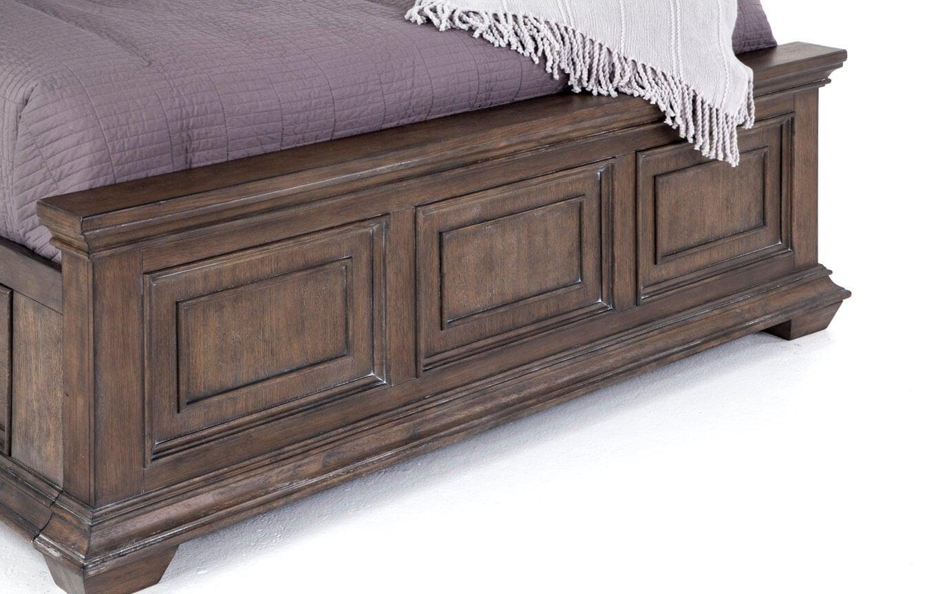 Tuscany King Storage Bed