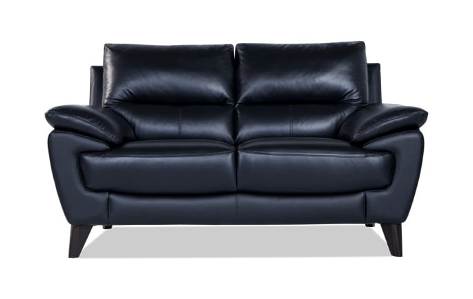 Galaxy Leather Loveseat