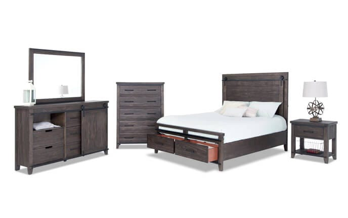 Montana Storage Bedroom Set