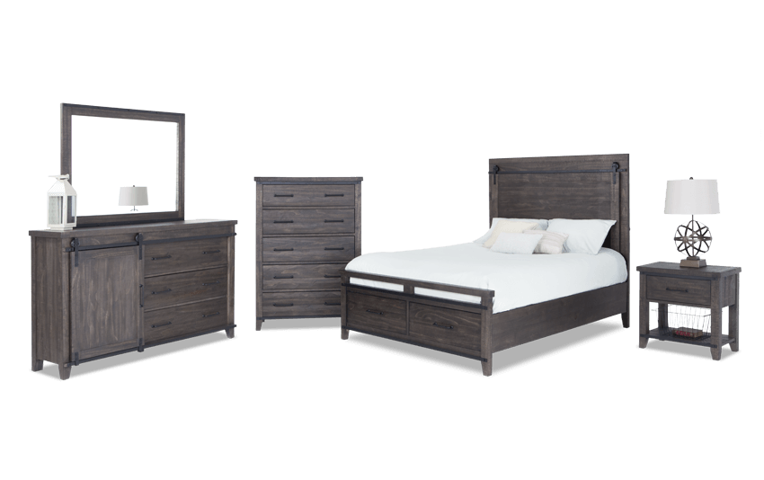 Montana Storage Bedroom Set | Bob\'s Discount Furniture