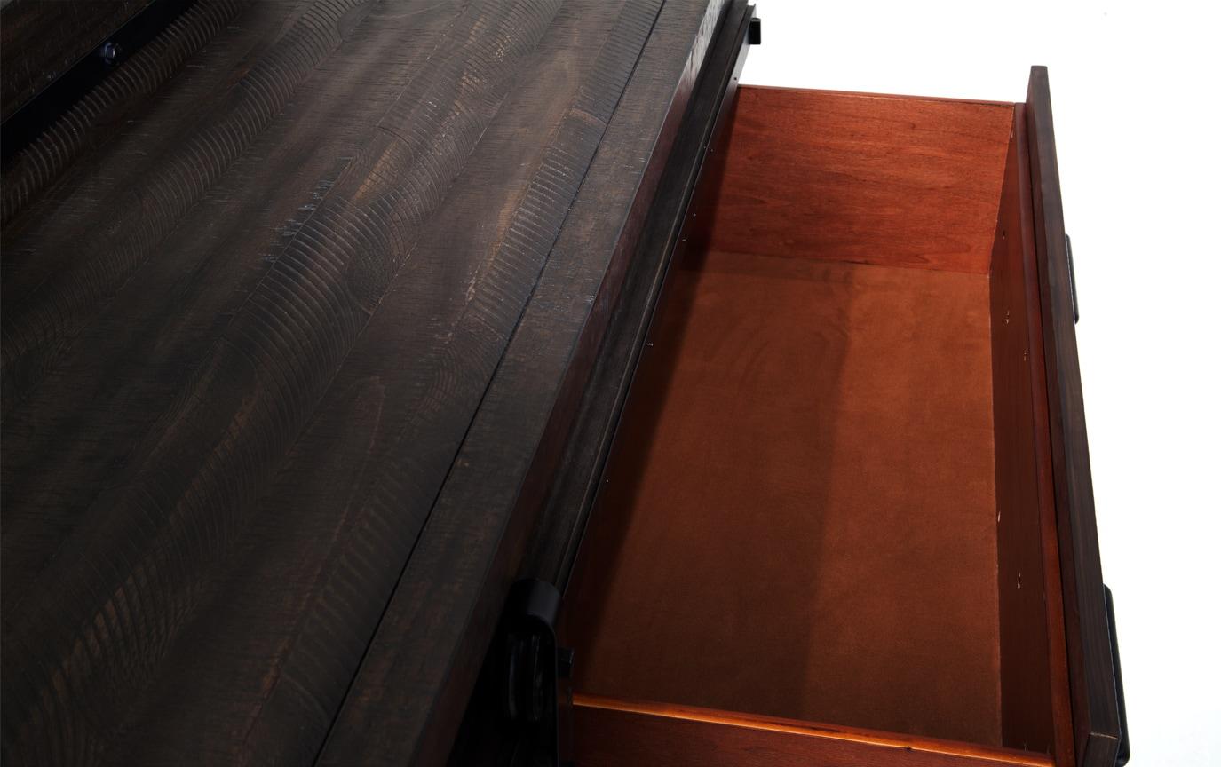 Montana Brown Dresser & Mirror