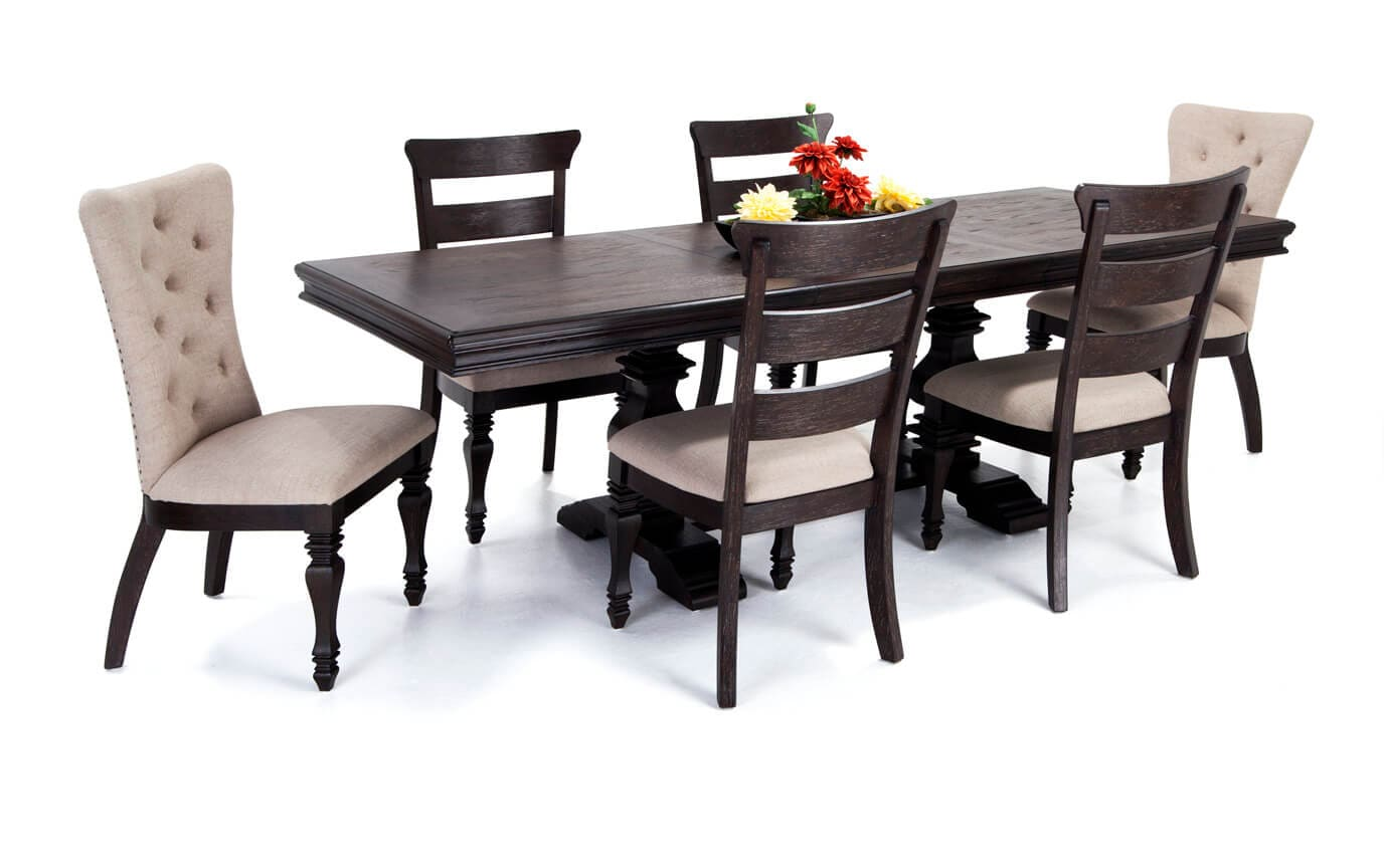 Riverdale 7 Piece Dining Set Bobs Com