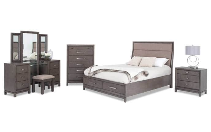 Simple Bob Furniture Bedroom Set Painting