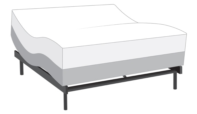 Power Bob Plus with Black Label Gel Mattress