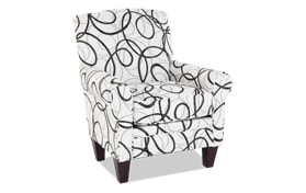 Tory Dream Chocolate Accent Chair
