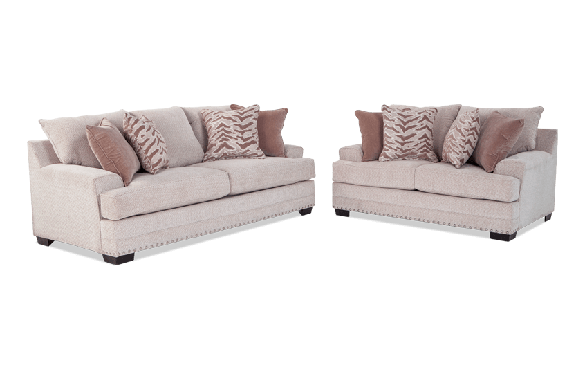 Glitz Sofa U0026 Loveseat