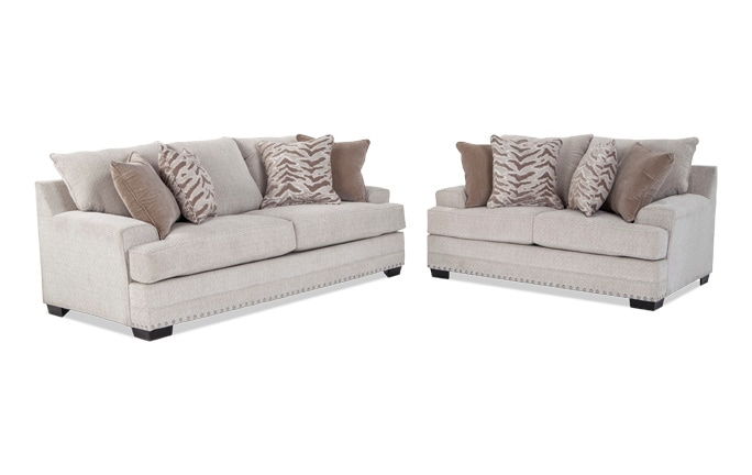 Glitz Sofa & Loveseat