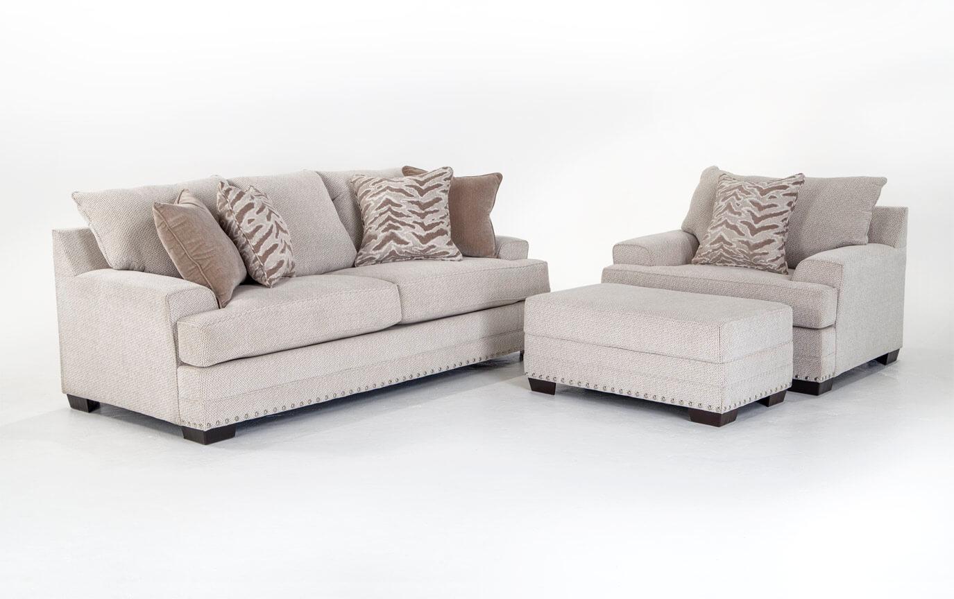 Glitz Sofa, Chair & Ottoman | Bob\'s Discount Furniture