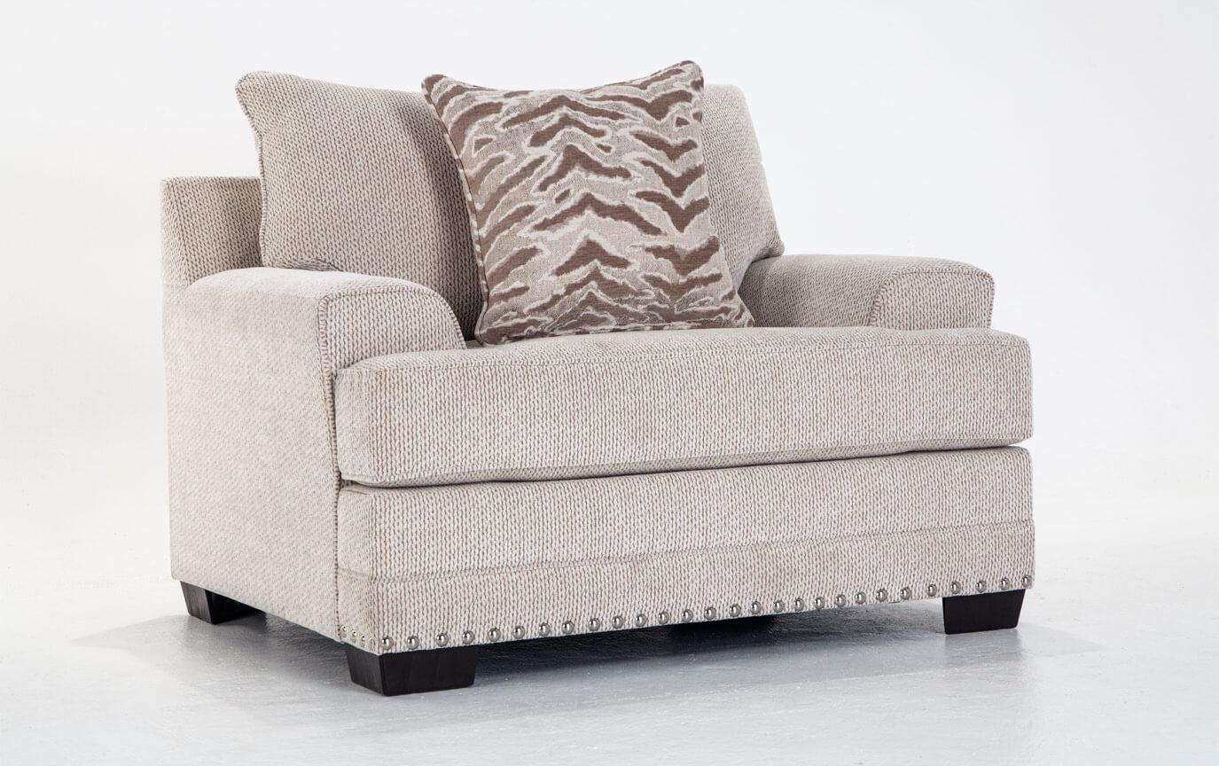 Glitz Sofa, Chair & Ottoman