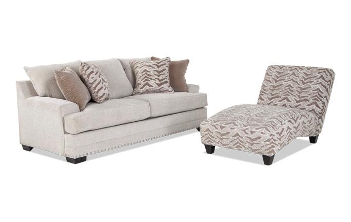 Glitz Sofa Chaise
