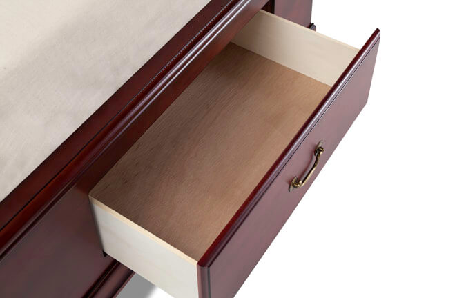 Louie Cherry Twin Storage Bed