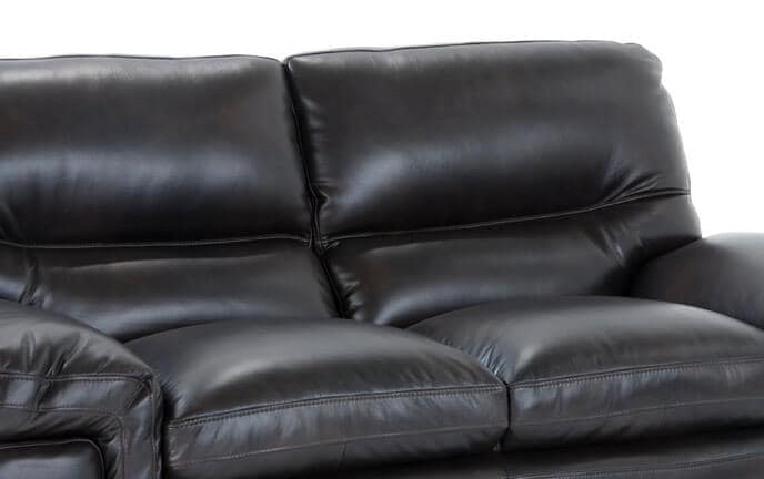 Carter Leather Sofa, Loveseat & Chair
