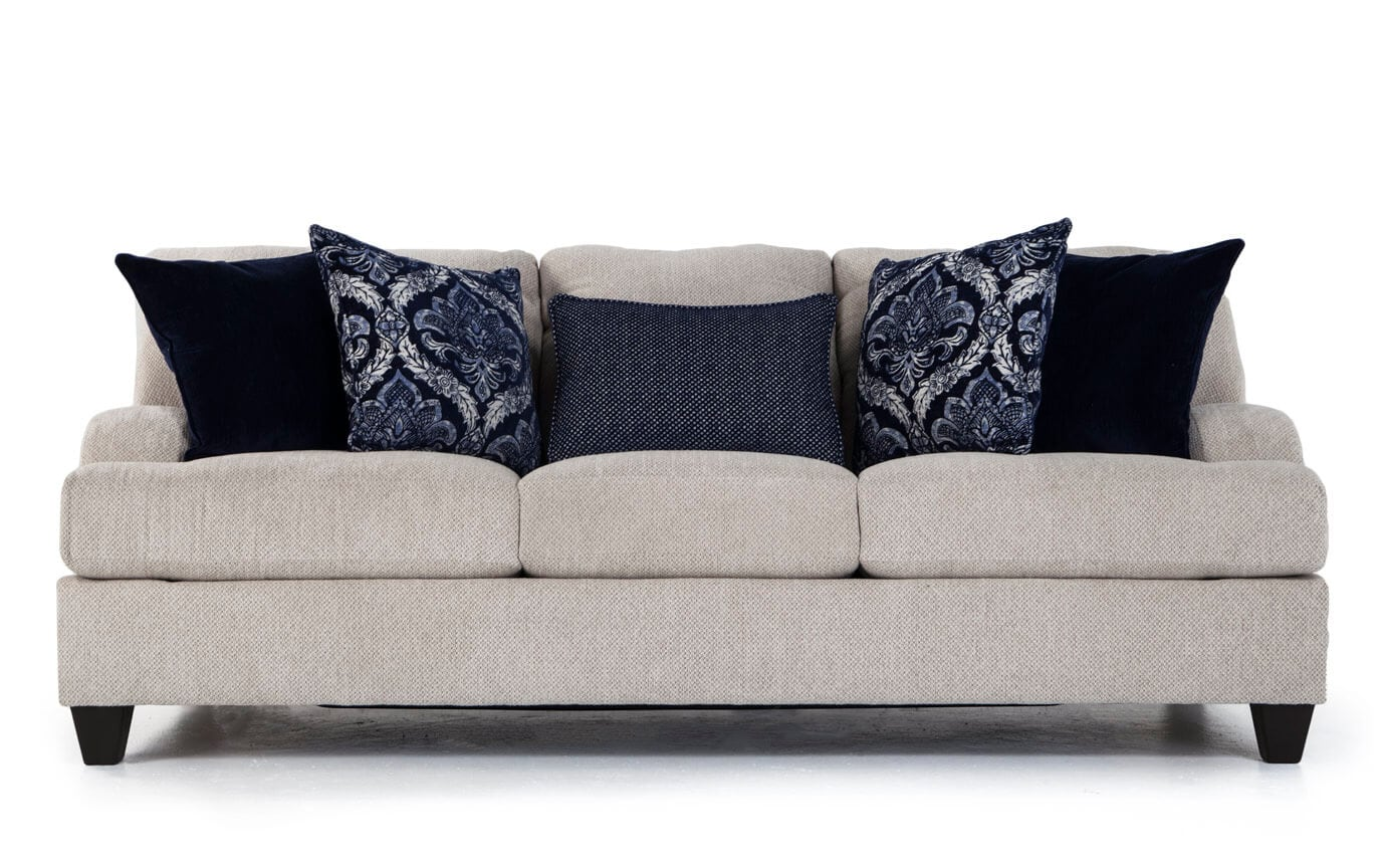 Hamptons Sofa & 2 Accent Chairs