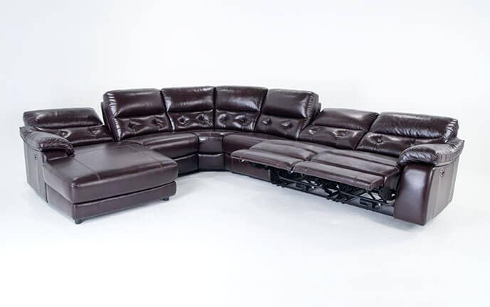 Gotham Power Reclining Sofa Bob S Discount Furniture