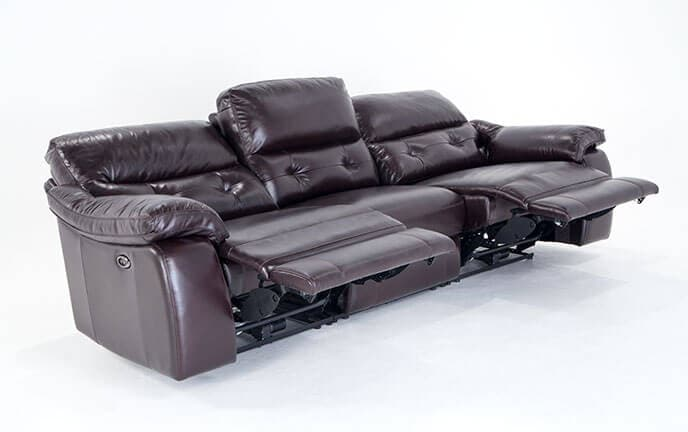 excalibur leather power reclining sofa - Sofa Leather